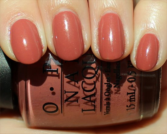 OPI Gouda Gouda Two Shoes Review & Swatch