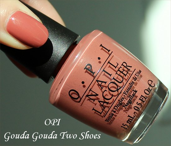 OPI Gouda Gouda Two Shoes Swatch & Review OPI Holland Collection Swatches & Review