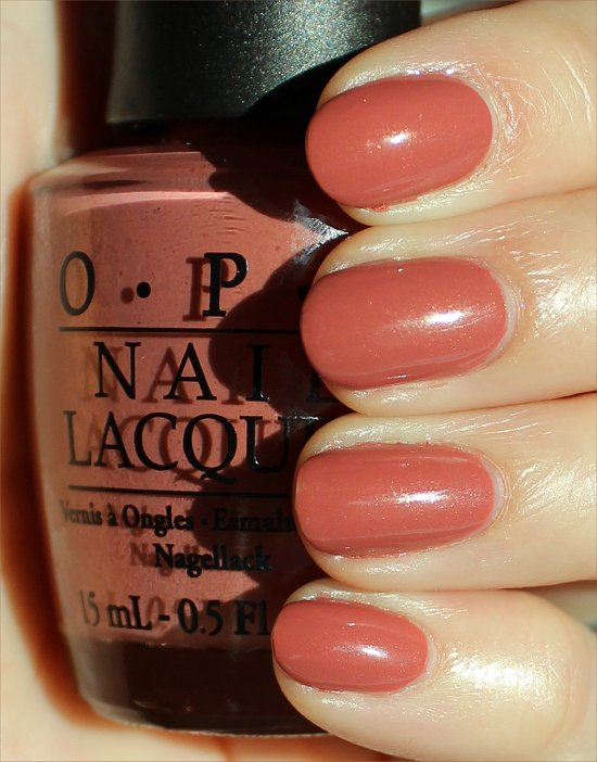 OPI Gouda Gouda Two Shoes Swatches & Review