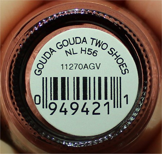 OPI Holland Collection Gouda Gouda Two Shoes Swatch & Review