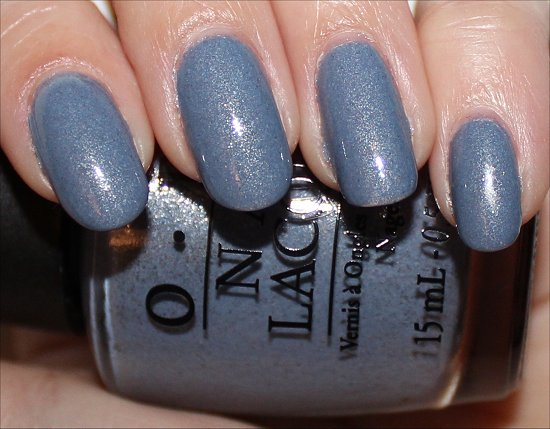 OPI Holland Collection OPI I Don't Give a Rotterdam Swatch & Review
