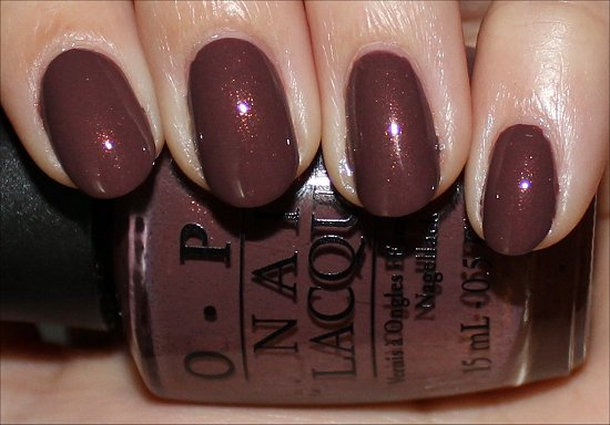 OPI Holland Collection Wooden Shoe Like to Know Swatch & Pics