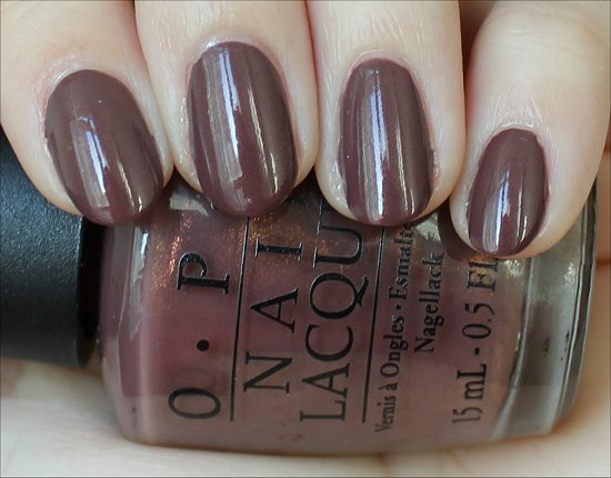 OPI Holland Collection Wooden You Like to Know Swatch & Review
