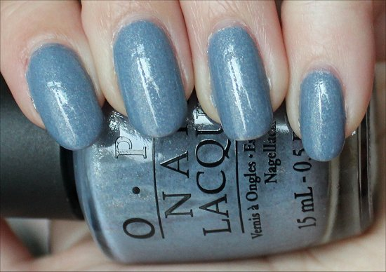 OPI I Don't Give a Rotterdam Holland Collection Swatch & Review