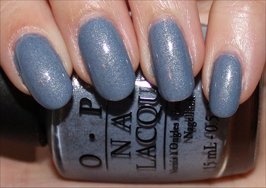 OPI I Don't Give a Rotterdam Swatch, Review & Pictures