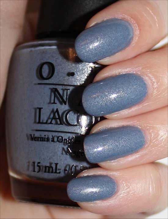 OPI I Don't Give a Rotterdam Swatches & Review