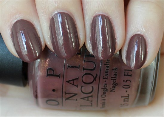 OPI Wooden Shoe Like to Know Holland Collection Swatches & Review