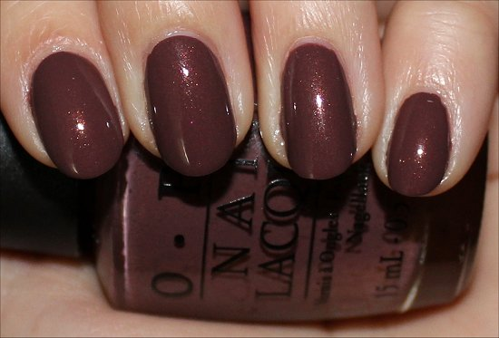 OPI Wooden Shoe Like to Know Swatches, Pictures & Review