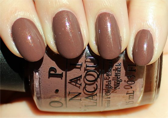 OPI Wooden Shoe Like to Know Swatches & Pictures