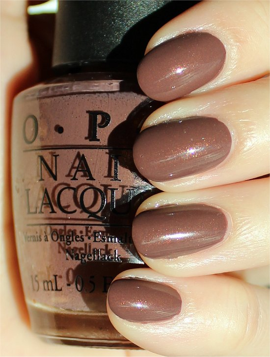 OPI Wooden Shoe Like to Know Swatches & Review
