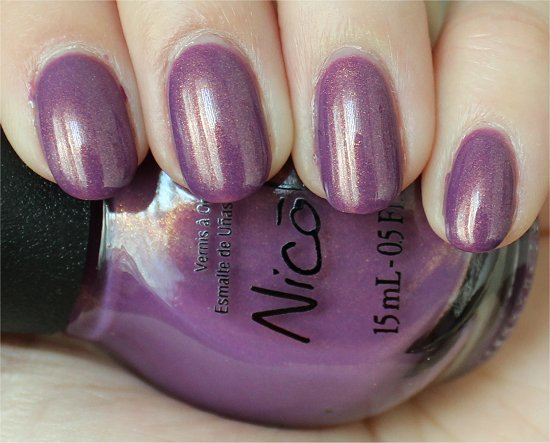 Purple Yourself Together NOPI Swatches & Review