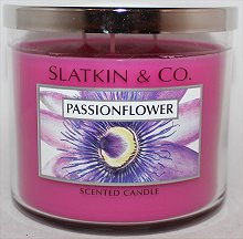 Slatkin & Co. Passion Flower Candle Review & Pictures Bath & Body Works