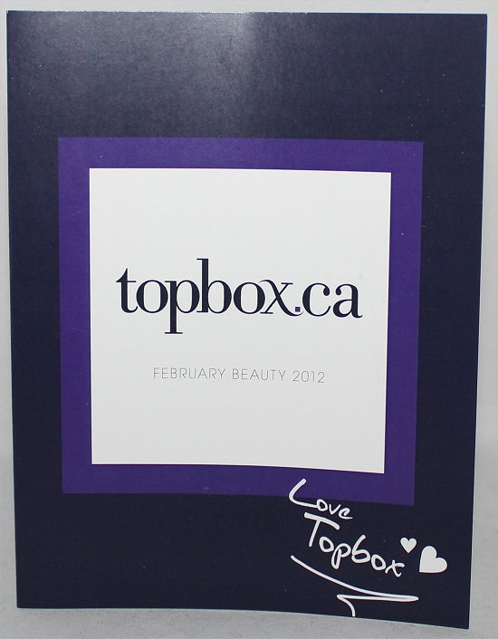 Topbox February 2012 Review & Pictures