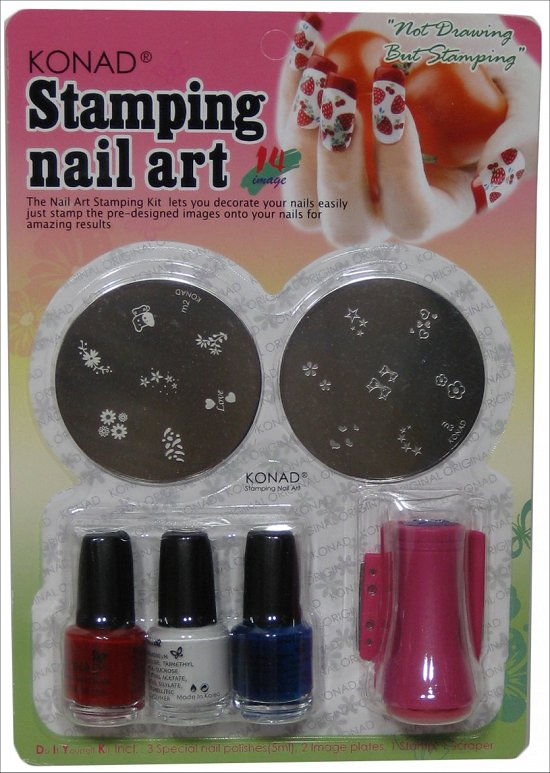 Win Konad Nail Stamping Kit Swatch And Learn