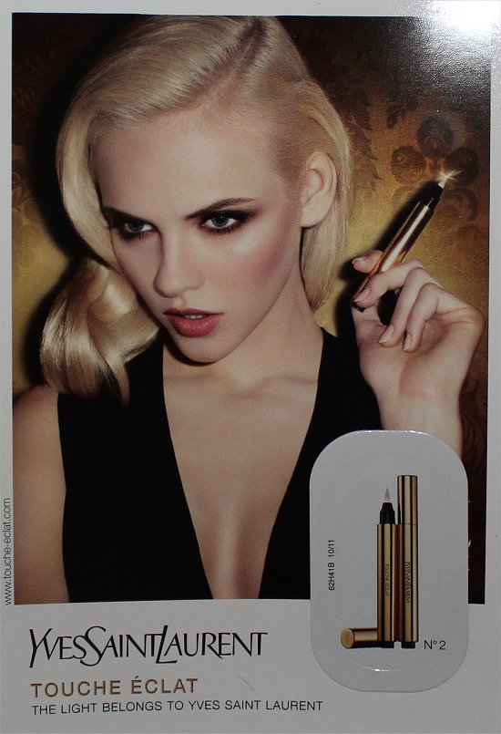 Yves Saint Laurent Touche Eclat February 2012 Topbox Review & Photos