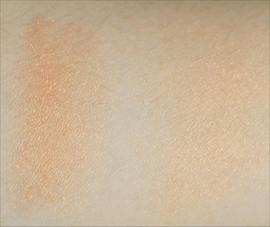 elf Studio Giddy Gold Blush Swatch & Review