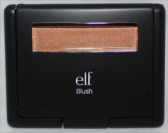 elf Studio Giddy Gold Blush Swatches & Review