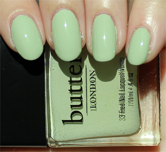 Bossy Boots Swatch Butter London Review Spring Summer 2012 Collection