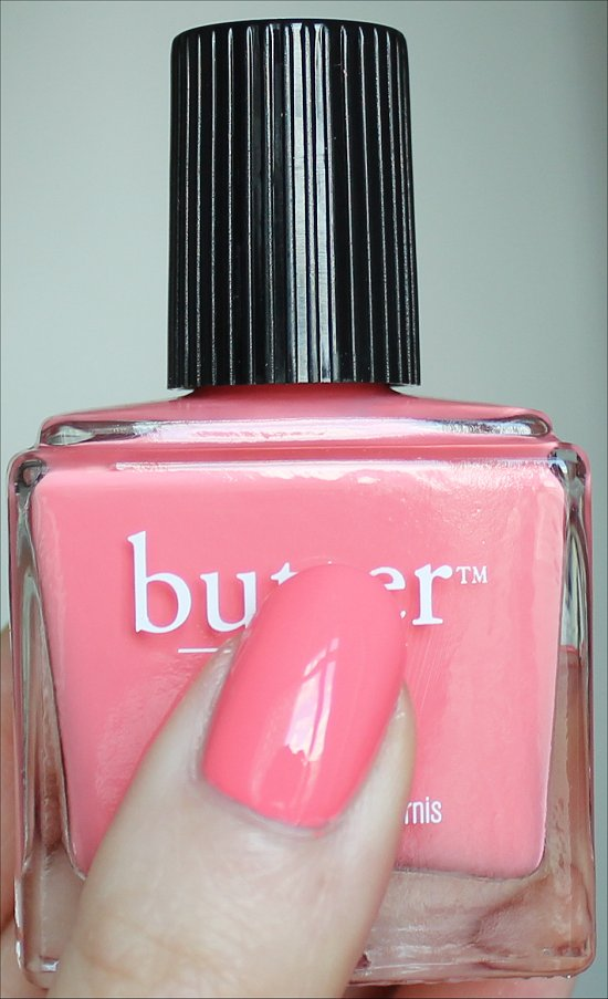 Butter London Spring Summer 2012 Collection Swatches & Review Trout Pout