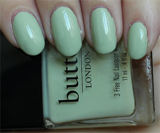Butter London Spring Summer Collection 2012 Swatches & Review Bossy Boots