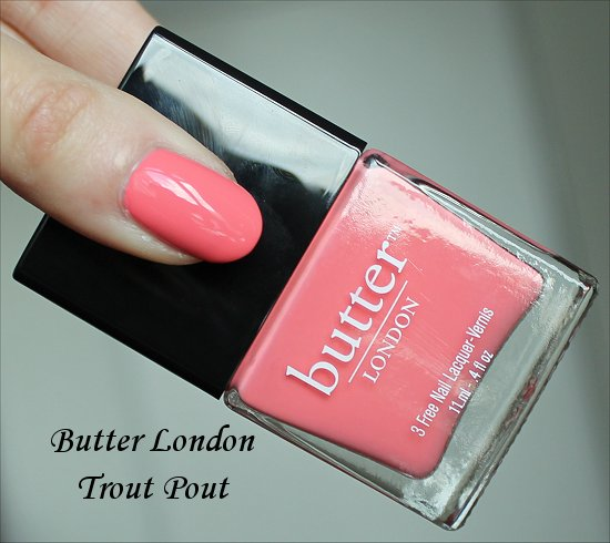 Butter London Trout Pout Pictures, Review & Swatches