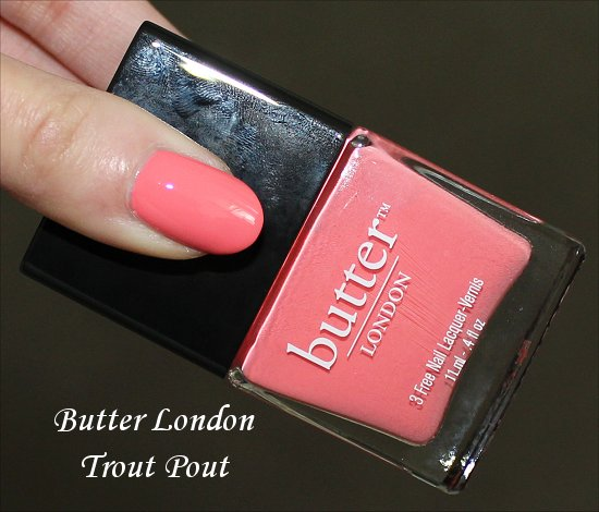 Butter London Trout Pout Review, Swatch & Pics