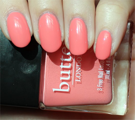 Butter London Trout Pout Review & Swatch