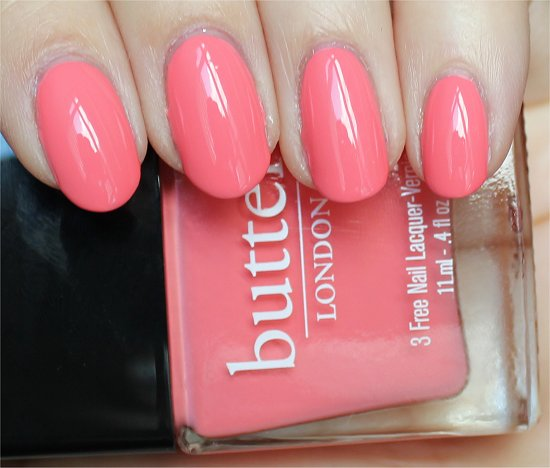 Butter London Trout Pout Review & Swatches