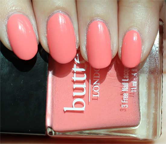 Butter London Trout Pout Swatch & Review