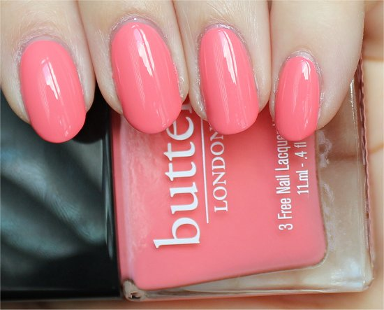 Butter London Trout Pout Swatches & Pictures