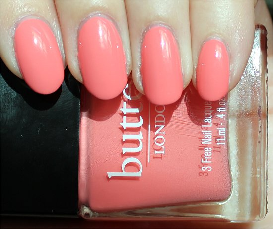 Butter London Trout Pout Swatches & Review