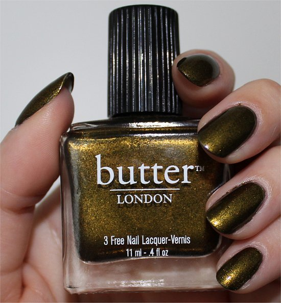 Butter London Wallis Pics, Swatches & Review