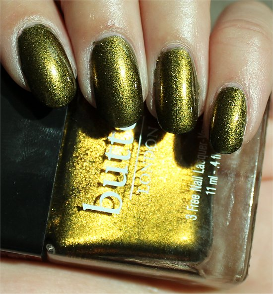Butter London Wallis Review & Swatch
