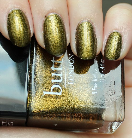 Butter London Wallis Review, Swatches & Pics