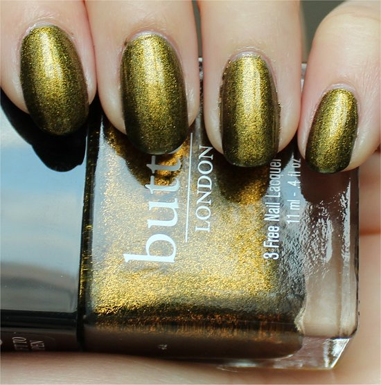 Butter London Wallis Swatch, Review &amp; Pics