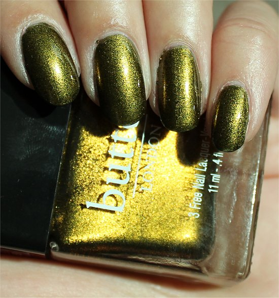 Butter London Wallis Swatch & Review