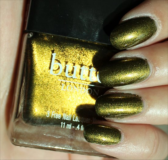 Butter London Wallis Swatches & Review