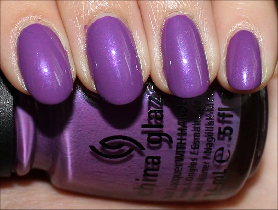China Glaze Gothic Lolita Review & Pictures