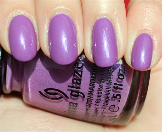 China Glaze Gothic Lolita Review & Swatch