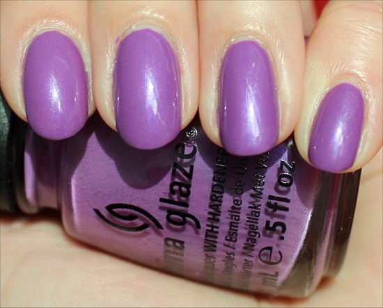 China Glaze Gothic Lolita Review & Swatches