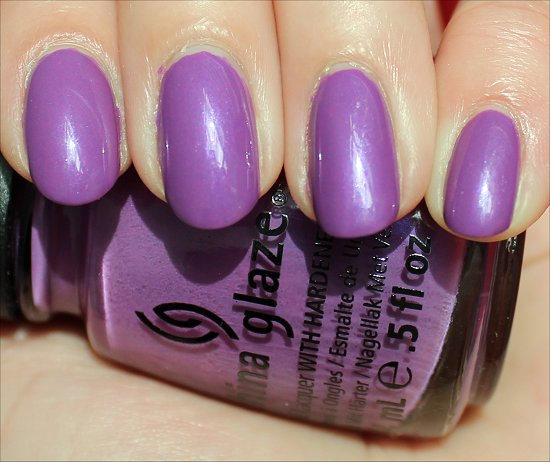 China Glaze Gothic Lolita Swatch & Review