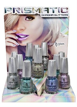 China Glaze Prismatic Chroma Glitters Collection Press Release & Promo Pictures smaller