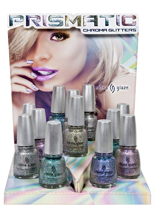 China Glaze Prismatic Chroma Glitters Collection Press Release & Promo Pictures