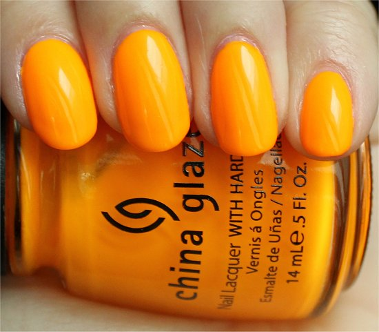 China Glaze Sun Worshiper Review & Swatches