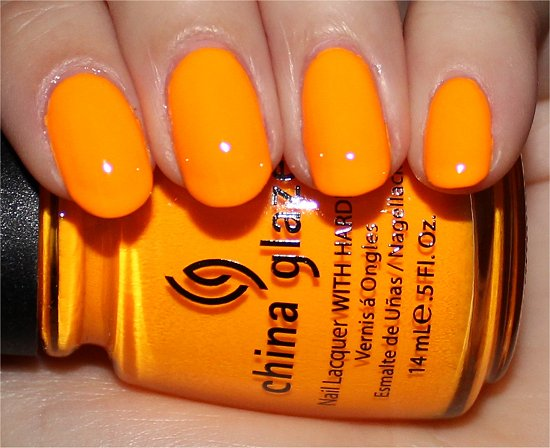 China Glaze Sun Worshiper Swatches, Review & Photos