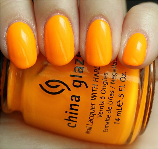 China Glaze Sun Worshiper Swatches, Review & Pics
