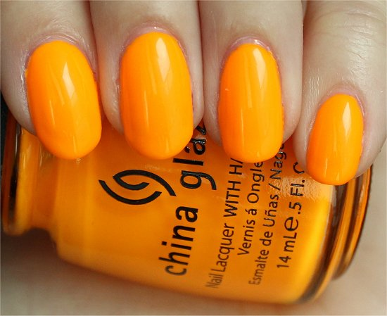 China Glaze Sun Worshiper Swatches & Review