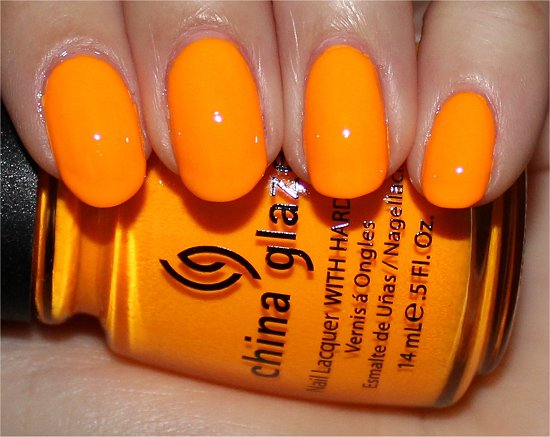 China Glaze Sun Worshipper Swatch & Review