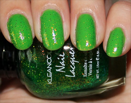 Chunky Holo Clover KleanColor Swatch & Review