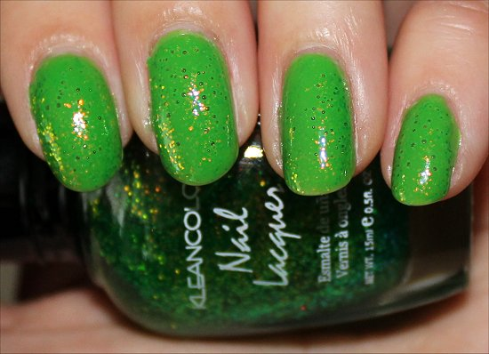 Chunky Holo Clover KleanColor Swatches & Review